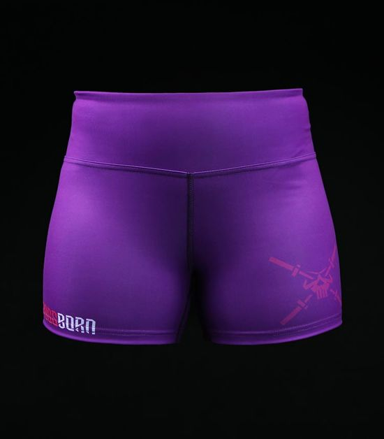 Training shorts Crossborn Purple