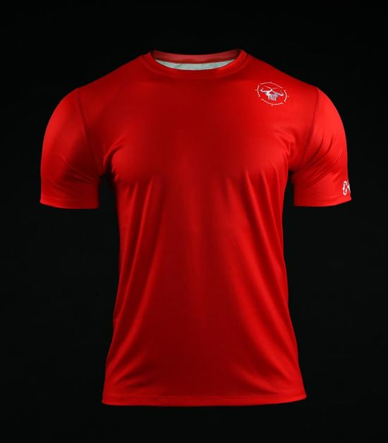 Training t-shirt Crossborn Minimal Red