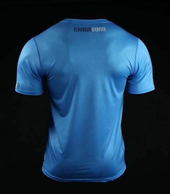 Training t-shirt Crossborn Skull Dirt Blue