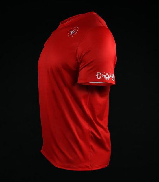 Koszulka treningowa (T-shirt) Minimal Czerwona